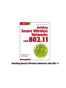 Build ing Secure Wireless Networks with 802.11