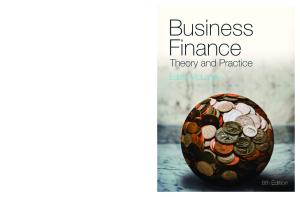 Business Finance: Theory and Practice, 8th Edition