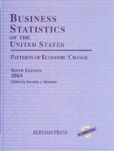 Business Statistics of the United States, 2004