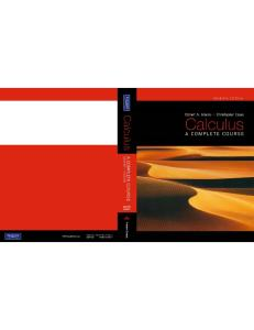 Calculus: A Complete Course, 7th