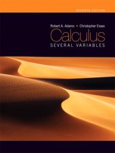 Calculus: Several Variables, Seventh Edition