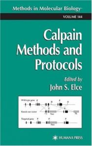 Calpain Methods and Protocols. Chapters 24 and 35 are absent