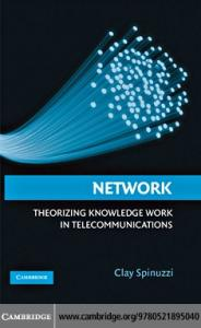 Cambridge University Press Network Theorizing Knowledge Work in Telecommunications