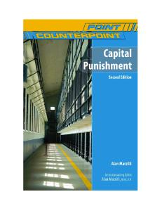 Capital Punishment, 2nd Edition (Point Counterpoint)