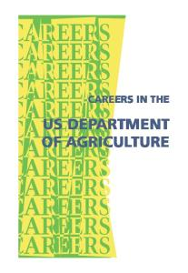 Careers in the US Department of Agriculture