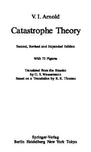 Catastrophe Theory - 2nd Edition
