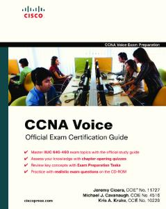 CCNA Voice Official Exam Certification Guide (640-460 IIUC)