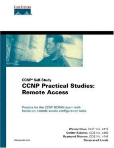 CCNP practical studies: remote access