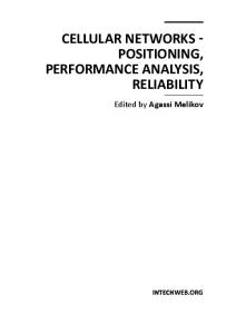 Cellular Networks - Positioning, Performance Analysis, Reliability