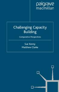 Challenging Capacity Building: Comparative Perspectives