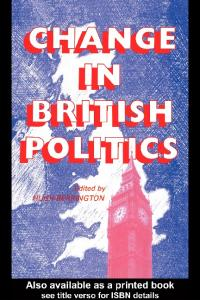 Change in British Politics (West European Politics)