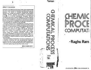 Chemical Process Computations