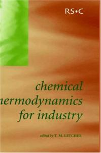 Chemical Thermodynamics for Industry