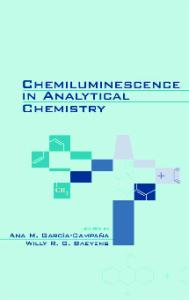 Chemiluminescence in Analytical Chemistry