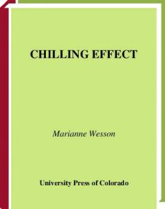 Chilling Effect (Lucinda Hayes Mysteries)