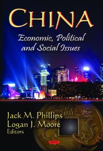 China: Economics Political and Social Issues