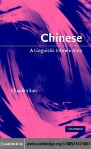 Chinese: A Linguistic Introduction (Linguistic Introductions)