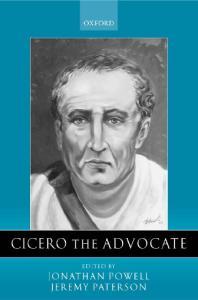 Cicero the Advocate