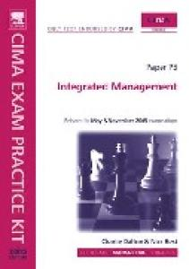 CIMA Exam Practice Kit: Integrated Management (Cima Exam Practice Kit)