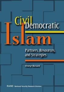 Civil democratic Islam: partners, resources, and strategies, Issue 1716