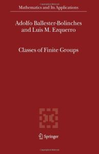 Classes of finite Groups