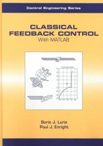 Classical feedback control with MATLAB