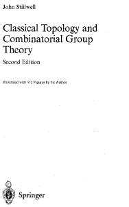 Classical Topology and Combinatorial Group Theory