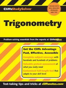 CliffsStudySolver Trigonometry (Cliffsstudy Solver)