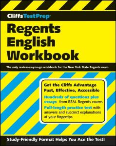 CliffsTestPrep Regents English Workbook