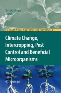 Climate Change, Intercropping, Pest Control and Beneficial Microorganisms (Sustainable Agriculture Reviews)