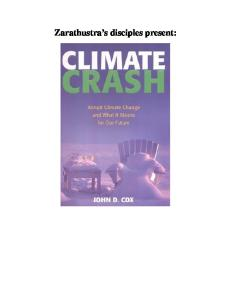 Climate Crash: Abrupt Climate Change And What It Means For Our Future