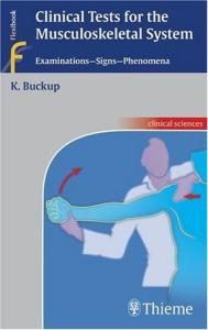 Clinical Tests for the Musculoskeletal System