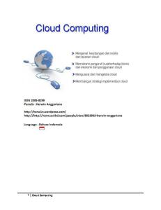 Cloud Computing - Indonesia Version