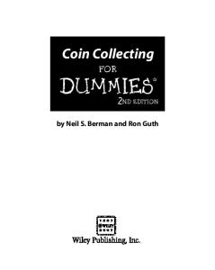 Coin Collecting For Dummies, 2nd edition (For Dummies (Sports & Hobbies))