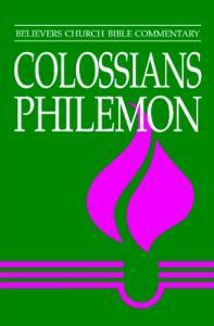 Colossians, Philemon