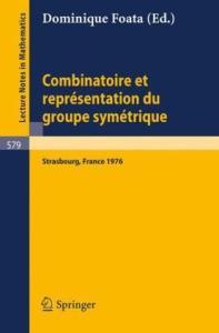 Combinatoire et Representation du Groupe Symetrique
