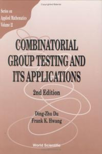 Combinatorial group testing and its applications