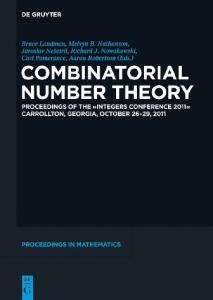 Combinatorial Number Theory,