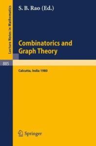 Combinatorics and Graph Theory. Proc. Symposium Calcutta, 1980