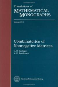 Combinatorics of nonnegative matrices