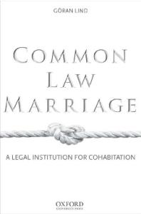 Common Law Marriage: A Legal Institution for Cohabitation