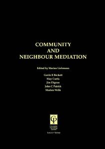 Community and Neighbour Mediation