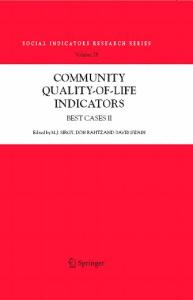Community Quality-of-Life Indicators: Best Cases II (Social Indicators Research Series)