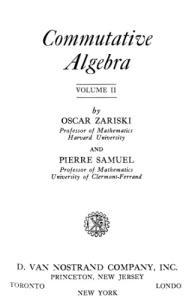 Commutative Algebra, Vol. 2