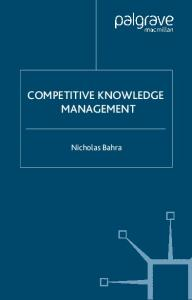 Competitive Knowledge Management