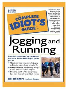 Complete idiots guide to Jogging & Running