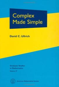 Complex Made Simple (Graduate Studies in Mathematics)