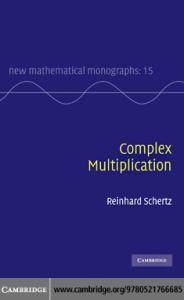 Complex multiplication