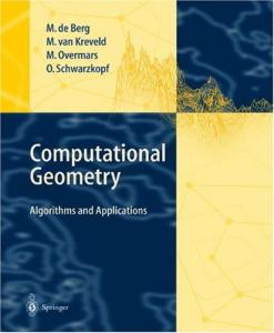 Computational Geometry. Algorithms and Applications