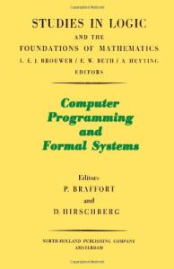 Computer programming and formal systems